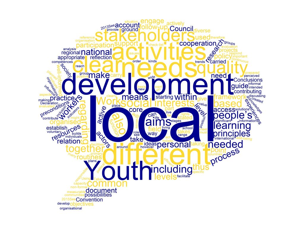 Towards a European Charter on Local Youth Work